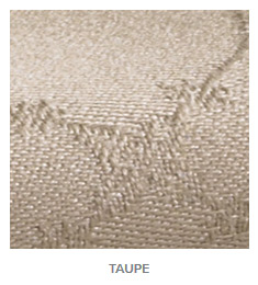 Juliet Taupe Color Tablecloth and Napkins