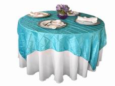 Various shape and size tablecloths