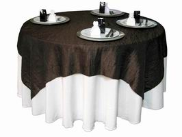 Taffeta Overlays For Tables Table Cloth Factory