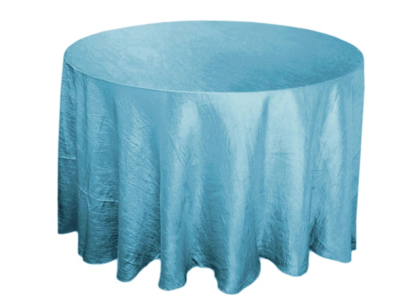 In Stock Crinkle Round Tablecloths U0026 Table Linens For Special Events,  Weddings, Home U0026 More