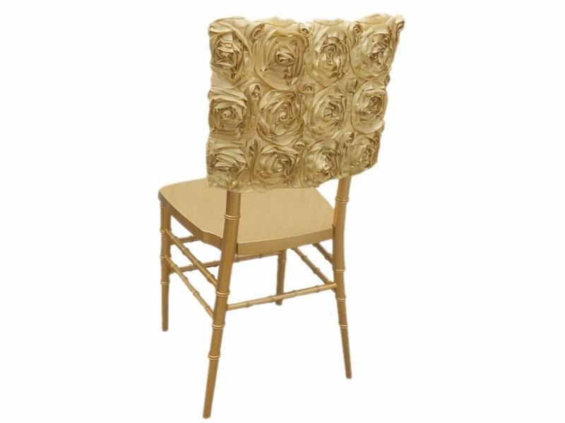 Fantastic Buy 16 Champagne Rosette Chiavari Chair Caps Cover At Pdpeps Interior Chair Design Pdpepsorg